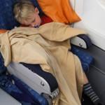 Felix im Flugzeug