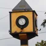 Ein Uhrenturm