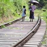 Schienen als Weg