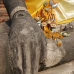 Ayuthaya - Hand des Buddhas