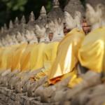 Ayuthaya - Buddhareihe
