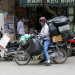 Hanoi - Motorradtransporter 1