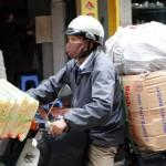 Hanoi - Motorradtransporter 2