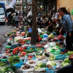 Hanoi - Frisches Gemüse