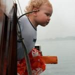 Halong Bucht - Wind im Gesicht