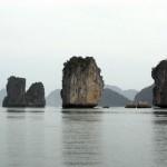 Halong Bucht - Felsformationen