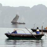 Halong Bucht - Fischerboote