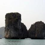 Halong Bucht - Felsformation
