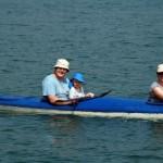 Halong Bucht - Paddeln