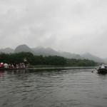 Thanh Son - Touristenboote auf dem Fluss