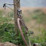 Thanh Son - Fahrrad am Fluss