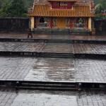 Hue - Das Minh Mang Grab - Einer der Vortempel