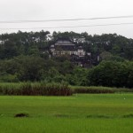 Hue - Das Khai Dinh Grab - Die Grabstätte im Reisfeld