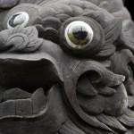 Hue - Das Khai Dinh Grab - Drachenkopf