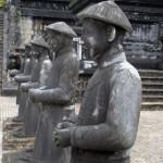 Hue - Das Khai Dinh Grab - Steinerne Soldaten
