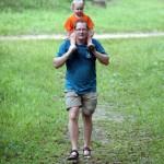 My Son - Felix reitet auf Papa
