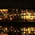 Hoi An - Beleuchtete Altstadt am Fluss
