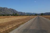 Karstlandschaft um Ban Khoun Kham