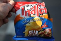 Chips Crab Curry