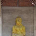 Eingepackter Buddha
