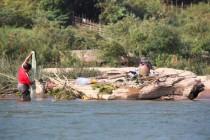 Arbeit im Wasser
