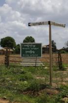 Hinweisschild nach Nyaung Shwe