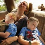 Schlaf nachholen im Auto