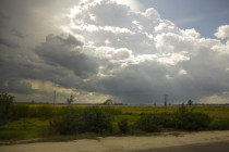 Der Regen kommt