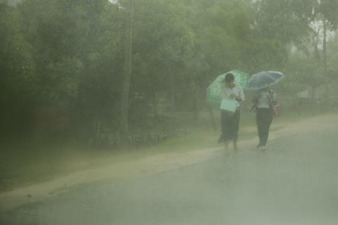 monsunregen sri lanka