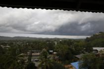 Monsunregenwolken