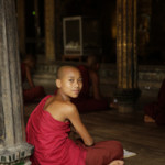 Ein junger Mönch