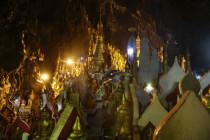 Viele Buddhas