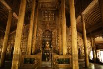 Gebetshalle im Kloster