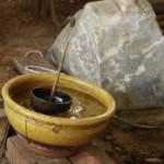 Traditionelle Wasseruhr
