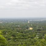 Ausblick vom Hügel von Sagaing