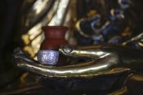 Hand des Buddha