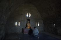 Beten zu Buddha