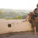 Iris an der Shwedaung Pagode