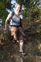 Iris klettert