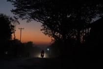 Beim abendlichen Heimweg ins Hotel