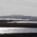 Wasserflächen nahe Sittwe