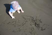 Luca hat einen Taucher gemalt