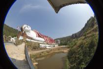 Der größte liegende Buddha der Welt