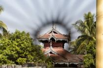 Blick auf ein Kostergebäude