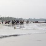 Fischverkauf am Strand